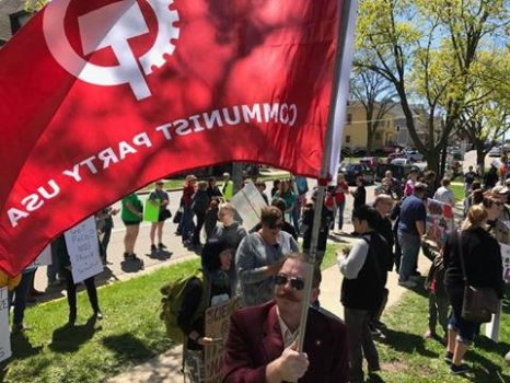 SCIENCE MARCH, MADISON WI EARTH DAY 2017 by The-Necromancer