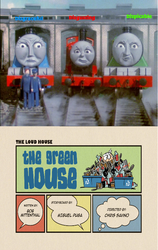 Gordon,James,and Henry Reaction to The Green House by aknupheap