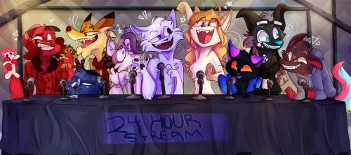 24 HOUR CHARITY STREAM!! (finished) by NoasDraws