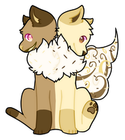 # milk and white choco: Offer To Adopt * CLOSED * by Sorbaie