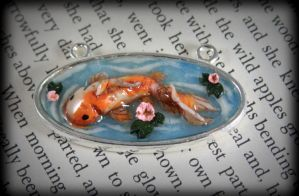 koi Pond Necklace 2 by NeverlandJewelry