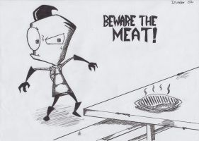 IZ - Beware the Meat!!! by AnimeStrife009