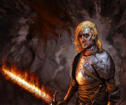 Beric Dondarrion by mcf