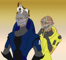 Easter Turians! by modesty