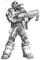 Soldier by golic