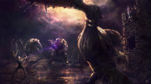 The Gloaming Battle by rodg-art