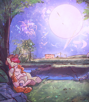 There will be fireworks, so stay close by mirroredsea