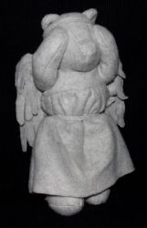 Weeping Angel Bear by AbleSistersFanCrafts
