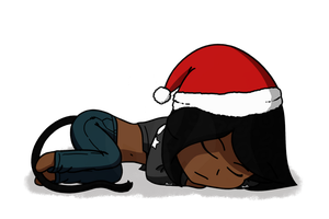 Holiday Nap by Fyreglyphs