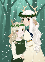 Holly and Ivy by skelly-jelly