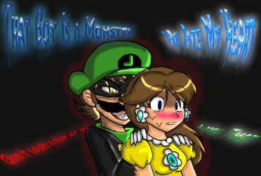 He is A Monster by Markiehh