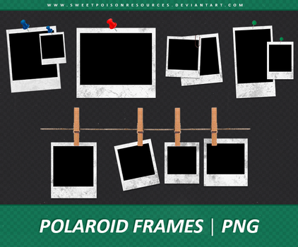 Polaroid Frames - PNG 004 by sweetpoisonresources