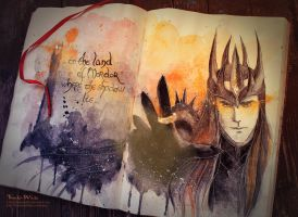 Sauron by Kinko-White