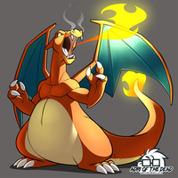 #PokeMonday - Charizard by AdriOfTheDead