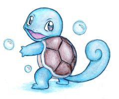 Squirtle by Naaraskettu
