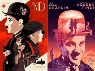 Tallenge_Hollywood_Collection Charlie_Chaplin edit by retroreloads