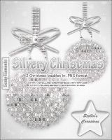 Silvery Christmas by Stellas-Creations