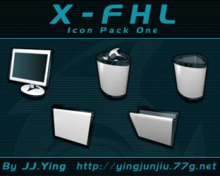X-FHL Icon Pack 1 by JJ-Ying