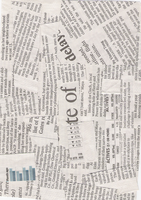 Texture03 Newspaper by locololastock