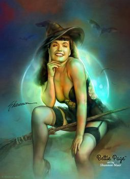Bettie Page: Spellbound by Shannon-Maer