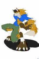 Werefox TF Lineart ver. 2 by V8Arwing67