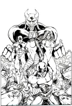 Death Squad by PeterPalmiotti