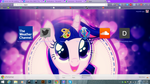 Sparkle Horse Out chrome theme by illumnious
