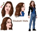 Elisabeth Wells by deanfenechanimations