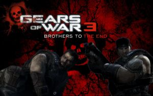 Gears of War 3 Brothers by LogrusChaos