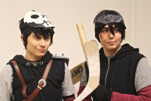 Capril / Casey Jones x April Kiss Cosplay by BroFist ...