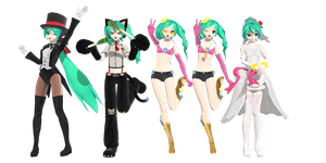 DT pack (DL) by MMD-francis-co