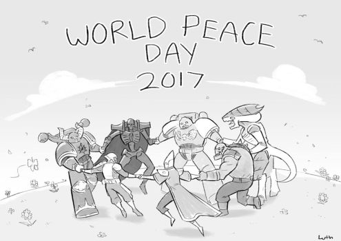 Peace Day 2017 by Lutherniel