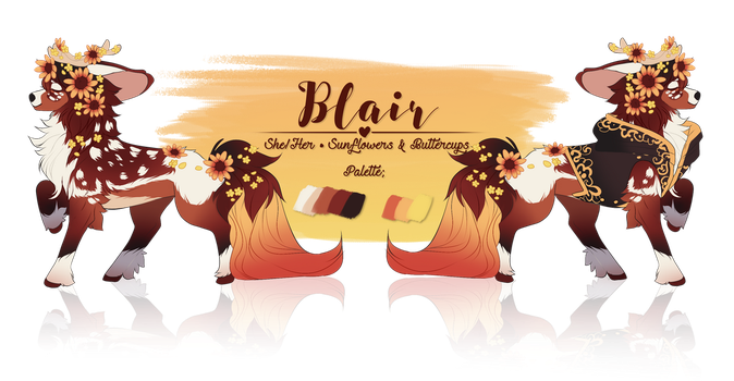 Blair || Canterwit by Hevirago