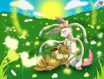 Eevee and Sylveon (Together Forever)