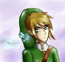 Link and Navi by zeldaholic135