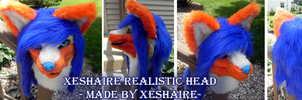 Xeshaire Realistic Head by Xeshaire