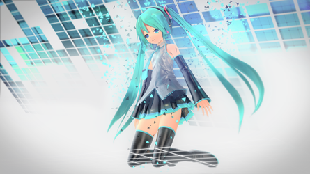 API Miku Melody Aerial Flow Cover by Process39