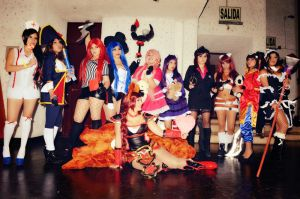 LOL GIRLS - Peru by dashcosplay