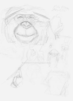 Rapid Sketch - Zoo Study H by unsungivy