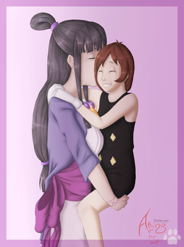 'Hush dear, Mommy Maya is here' by pieces-of-a-rose