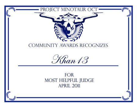 PMOCT CA - Most Helpful Judge by ProjectMinotaurOCT