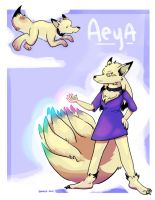 Aeya (Patreon commission) by bugbyte