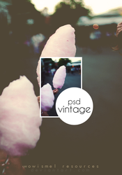 PSD - Vintage by WowisMel