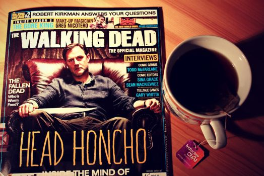 The walking dead and a cup of tea! by Peterdoesphotography