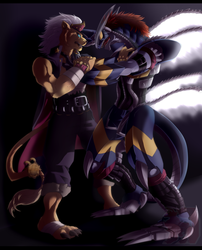 Rivals [Commission] by Ars-Daemonum