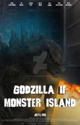 Godzilla II: Monster Island (no helicopter) by Konack1