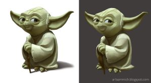 Yoda concepts for Disney Infinity 3.0 by Artsammich