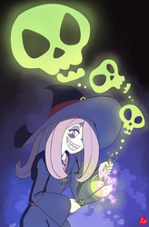 [Little Witch Academia] Sucy Manbavaran by chris-re5