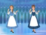 Beauty and the Beast Comparison - Snow Queen by IndyGirl89