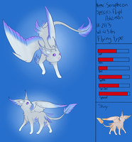 Serapheon -Fake Eeveelution- by StellarComet